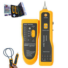 Internet Network Cable Tester Wire Crimp LAN RJ45 RJ11 CAT5 Analyzer Tool New