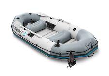 Intex Mariner 3 Inflatable Raft River Lake Dinghy Boat & Oars Set 68373EP
