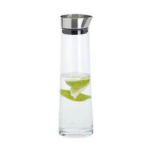 Blomus ACQUA Water Carafe Modern Jug Bottle Stainless Steel Glass 34 oz. (1L)