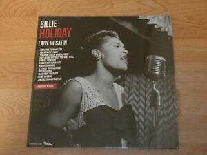BILLIE HOLIDAY LADY IN SATIN vinyle 33 tours exclu FNAC neuf scellé
