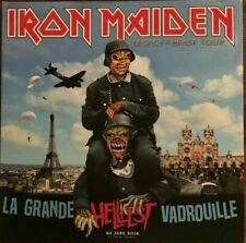 """IRON MAIDEN """" LIVE IN FRANCE 2018 - LA GRANDE VADROUILLE"""" (RARE 2 CD)"""