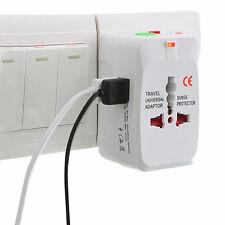 EU USA UK AU⇒universel Adaptateur Secteur Voyage 2 USB Chargeur Fiche Prise