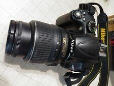 Nikon D5000 Digital SLR DX Camera with 18-55mm VR Zoom Lens - Black25454