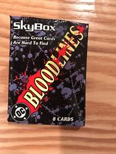 1993 Skybox DC Bloodlines trading card set
