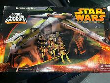 STAR WARS Revenge of the Sith Republic Gunship Hasbro 2005 NEW Sealed