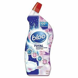 Bloo Fragranced Liquid Toilet Cleaner, Pink Gel, Flower Burst 700ml
