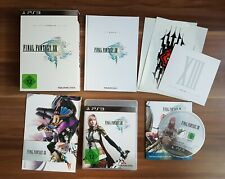 Final Fantasy XIII Limited Collectors Edition PlayStation 3 PS3 *top*