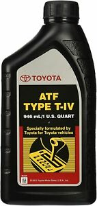 Toyota 00279-000T4-01 Lexus ATF Automatic Transmission Fluid New Free Shipping