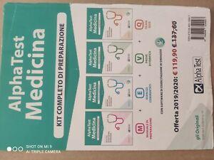 Alpha test medicina kit completo Di Preparazione