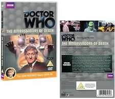 DR WHO 053 (1970) - THE AMBASSADORS OF DEATH - TV Doctor Jon Pertwee  NEW R2 DVD