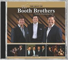 THE BEST OF THE BOOTH BROTHERS Gaither Homecoming Series Gospel Music 2012 CD VG