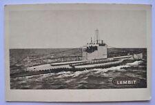 1920s Estonia Liberation Army LEMBIT Submarine Photo Postcard