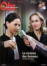 Mag 2006: SANDRINE BONNAIRE_ANOUK GRINBERG (Le procès de Bobigny)_ALICE TAGLIONI