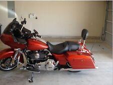 Detachable Backrest Sissy bar Harley Davidson Touring 4point docking kit 2014 UP
