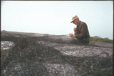 230084 Cape Breton Fisherman Mending Net Nova Scotia A4 Photo Print