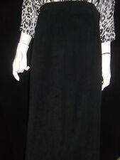 DEBORAH K Womens A Line Black Velvet Skirt - Size S