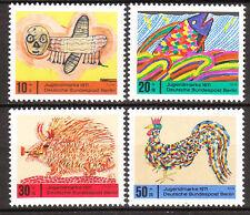 Berlin 1971 Mi. Nr. 386-389 Postfrisch LUXUS!!!