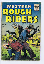Western Rough Riders #4 Gillmor 1955