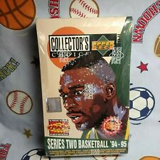 1994-95 Collector's Choice Series2 Hobby Box W/Blow Up Possible Jordan Auto Rare