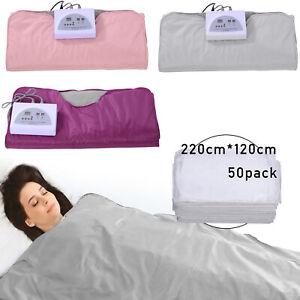 Infrared Sauna Blanket Heating Detox Therapy Fullbody Remote Control / Sheet Bag