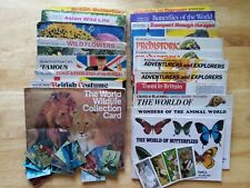 More details for brooke bond, shell, crosse and blackwell, kellogs collector cards in albums