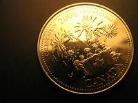 Canada 2000 Millennium Celebration 25 Cent Mint Grade Coin
