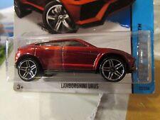 Hot Wheels Lamborghini Urus HW City Red