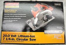 Craftsman Professional 20 Volt Lithium-Ion 7 1/4'' Circular Saw 9 28102 (W1)