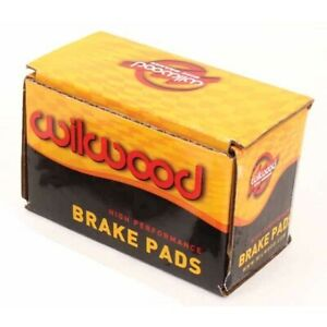 Wilwood 150-11363K 4812 BP-10 Brake Pad Set, .49 Inch Thick