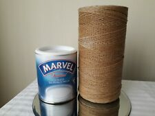 Large roll of vintage string 8 inches high by 4 inches wide, please see pictures