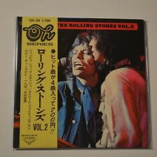 "ROLLING STONES - THE ROLLING STONES VOL.2 - 1973 JAPAN 7"" EP 4-TRACKS WITH OBI!!"