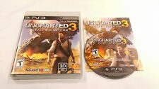 Uncharted 3: Drake's Deception for Sony PlayStation 3 PS3 **COMPLETE** VERY GOOD