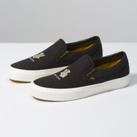Vans UA Classic Slip-On x Harry Potter Hufflepuff Black Men Limited VN0A4BV3V90