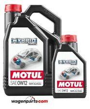 Aceite motores hibridos gasolina, Motul HYBRID 0W12 Toyota, pack 5 litros