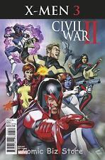 CIVIL WAR II X-MEN #3 (OF 4) (2016) 1ST PRINTING MAYHEW VARIANT COVER