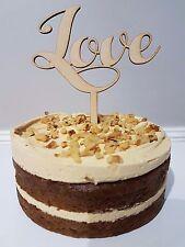 Love Cake Topper Platter Wedding Birthday Cheese  Custom Made Decoration
