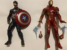 Marvel Legends Lot Captain America & Iron Man Civil War Giant Man Wave