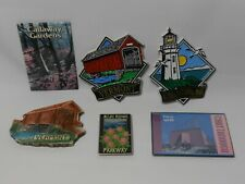 Lot of Travel Souvenir Tourist Magnets Vermont Chattanooga (FREE SHIPPING)