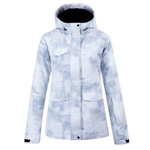 Women's Waterproof Ski Jacket Warm Winter Snow Mountain Windbreaker Hooded Coat