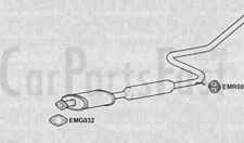 Exhaust Middle Silencers Nissan Primera 2.0 Petrol Estate 01/1991 to 12/1992
