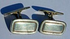 Manschettenknöpfe 835 Silber 19 x 12 mm Herren antik 1900