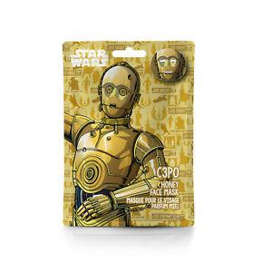 Disney Star Wars Feuchtigkeits-Gesichts-Pflege-Maske C3PO Tuch-maske Jedi-Ritter