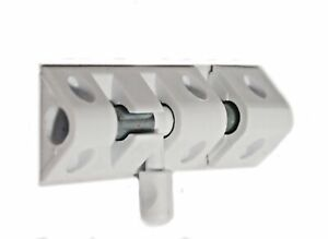 !New! Glide Bolt  WHITE 51mm SIMPLE Perfect for Doors & Gates Security !NEW!