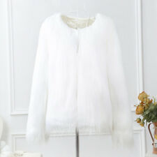 Luxury Winter Warm Faux Fur Jacket Tops Coat Outwear Cardigan Overcoat Parka