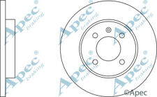 FRONT BRAKE DISCS (PAIR) FOR VW CADDY GENUINE APEC DSK575