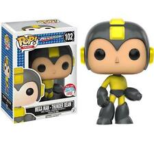 "EXCLUSIVE NYCC MEGA MAN THUNDER BEAM 3.75"" POP GAMES VINYL FIGURE FUNKO"