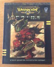 Warmachine Prime Remix Softback Edition Privateer Press