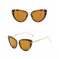 Womens Quality Designer Celebrity Fashion Ladies Cat Eye Sunglasses