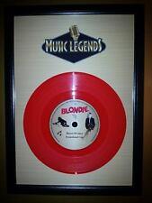 Blondie & Debbie Harry Memorabilia Presentation Discs