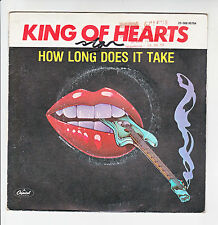 "KING OF HEARTS Vinyl 45T SP 7"" HOW LONG DOES IT TAKE - JUST BECAUSE - CAPITOL"